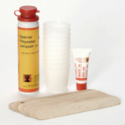 Polyester repair products