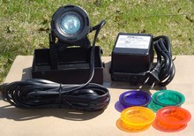 Super Glo Underwater Pond Light Kit with Transformer