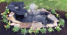 Algreen 72 Gallon Folding Preformed Pond/Streamlet Kit