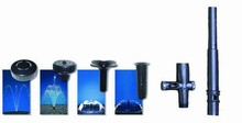 Fountain Head Collection with Riser and Diverter