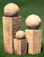Pillar and Ball Garden Fountain
