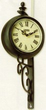 Small Wrought Iron Wall Clock DCTTH05105