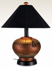 Patio Living Concepts Phoenix Table and Floor Lamps