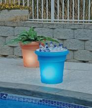 Patio Living Concepts GardenGlo Solar Planters