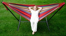 Combo - Universal Hammock Stand with Double Hammock