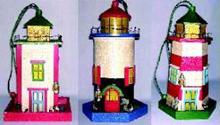 Decorative Lighthouse Style Birdhouses ZTN7