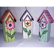 Wooden Bird Houses ZTN9