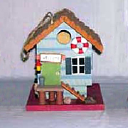 Decorative Wooden Bird Houses ZTN6