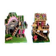 Decorative Wooden Bird Houses FUSD031359L
