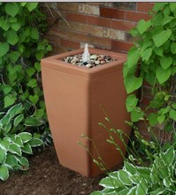 Madison Fountain with Pressurized Rain Barrel Feature