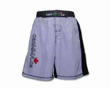 canbox.ca MMA Fight Shorts - Light Grey