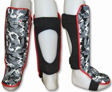 canbox.ca Shin-Instep Guards - camo grey