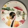 Round Cake Platter, Route des Indes