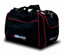 SORRY-- TEMP OUT OF STOCK--Black Gym Bag- Red Embroidery-- USA Only