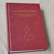 La Sainte Bible - commentaires Scofield et guides d'étude - imprimé