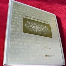 Pour mieux comprendre la Bible - Cours et corrigés - imprimé classeur