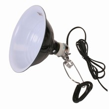 8.5 Inch Ceramic Lamp With Switch & Clamp