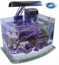 JBJ Picotope 3 Gallon Curved Glass Aquarium Kit