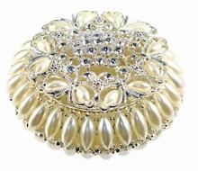 Boîte à bijoux perlé