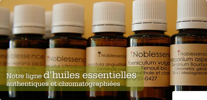 Notre ligne d'huiles essentielles authentiques et chromatographi�es