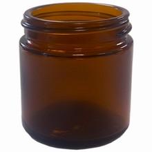 Pot en verre brun 100ml