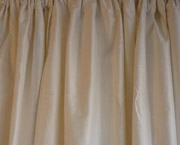 Plain Dupioni Silk Drapes