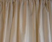 Plain Dupioni Silk Drapes