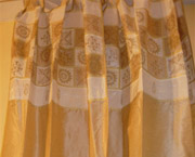 Embroidered Drapes