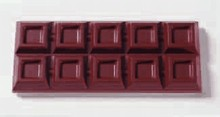 art 1878 chocolate mold bar