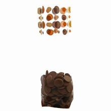 Brown dots cello bag 120x260mm