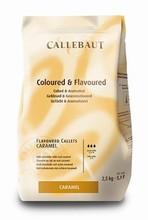 Milk chocolate caramel flavoured Callebaut