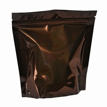 Standing Brown Pouch Bag