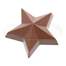 CW1862 Moule chocolat étoile