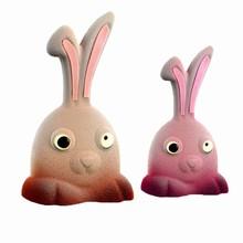 DRCP015 Moule chocolat lapins rigolos