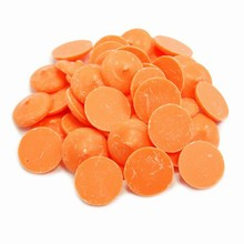 Orange Confectionary Coating Wafers