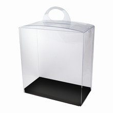 CRY5BW Reversible Black and White Platform Crystal Box