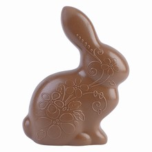 HB8025 Etched Floral Rabbit Hand Mold