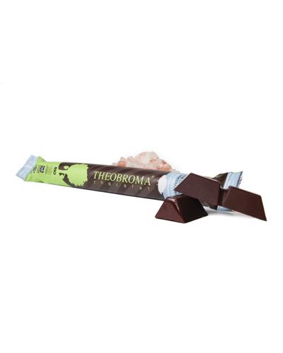 B�ton de chocolat noir sel d'Himalaya biologique 60% - Theobroma Chocolat