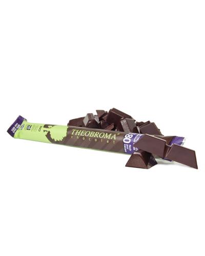 B�ton de chocolat noir pur � 80% - Theobroma Chocolat