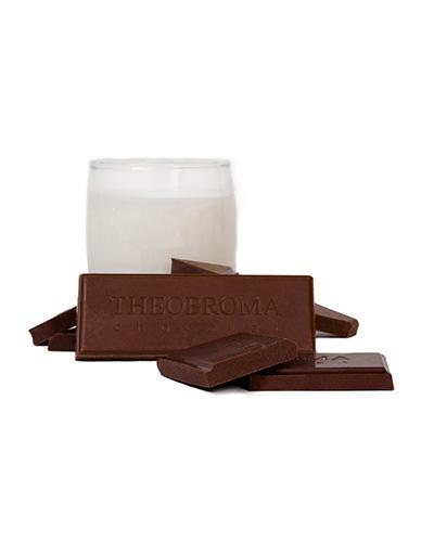 Tablette de chocolat au lait cr�meux � 38 % - Theobroma Chocolat