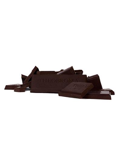 Tablette de chocolat noir pur � 70 % - Theobroma Chocolat
