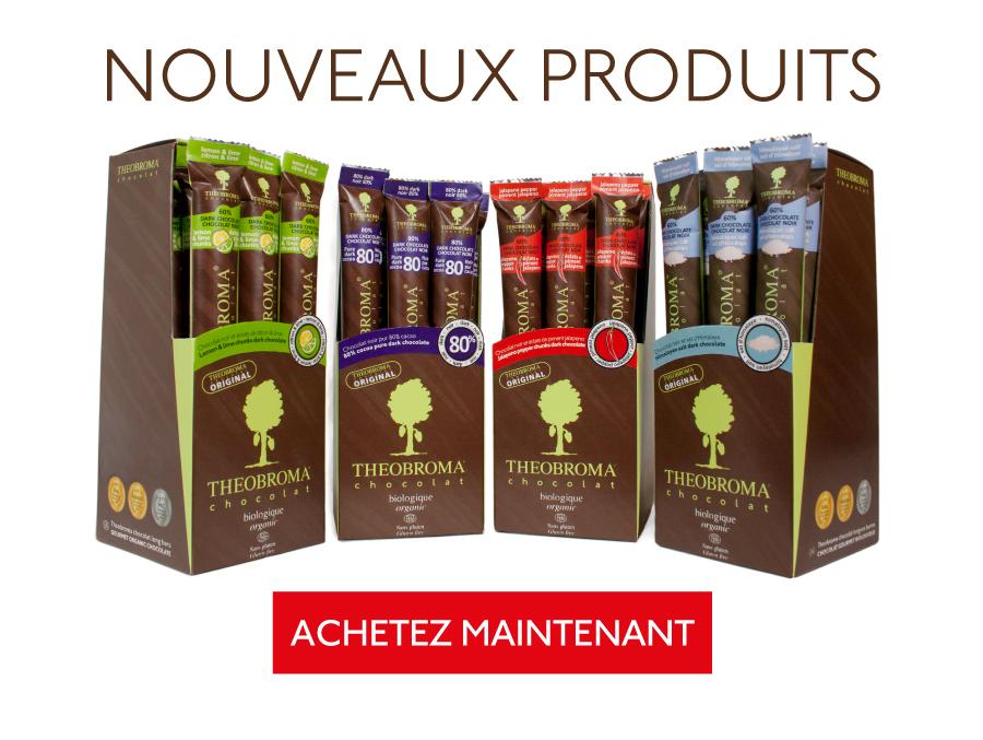 Nouveaux produits - Theobroma Chocolat