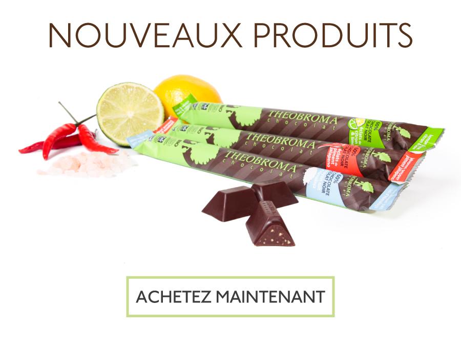 Nouvelles saveurs - Theobroma Chocolat