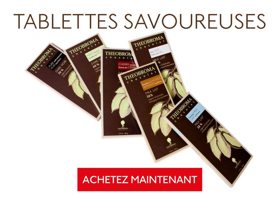 Tablettes savoureuses - Theobroma Chocolat