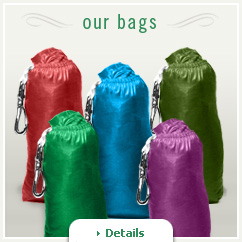Breezy Bags are available in five colors