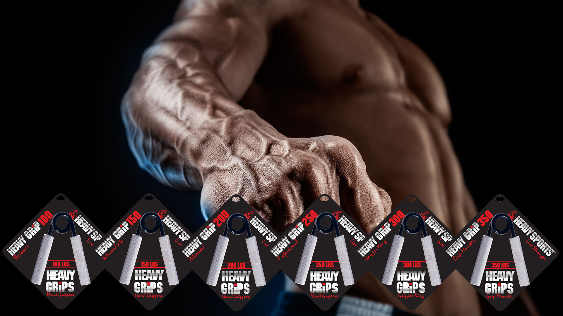 Heavy Grip Handgrippers