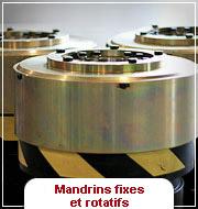 Mandrins Fixes & Rotatifs