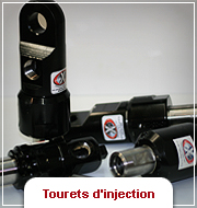 Tourets d'injection