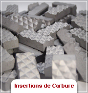 Insertions Carbure