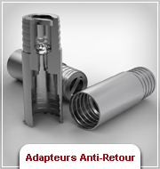 Adapteurs Anti-Retour